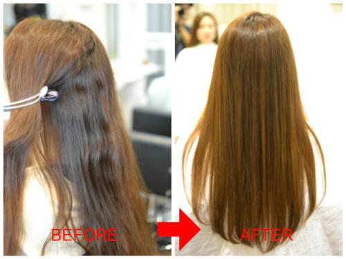 (R)美容師も縮毛矯正で通う美容室