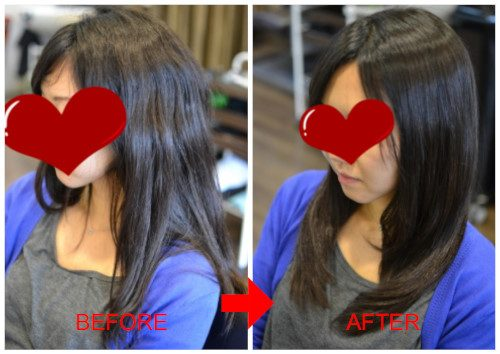 (R)海外からのお客様♪くせ毛によるボリュームを抑えてお手入れ簡単なストカール
