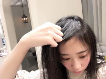 ぱっくと前髪を回避!前髪の乾かし方☆