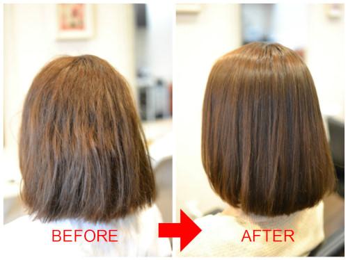 (R)「髪が綺麗に見える」 ≠ 「髪が傷んでいない」 縮毛矯正編