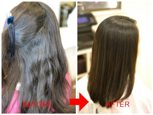 (R)縮毛矯正をしても髪が綺麗にならないのは髪質のせい???