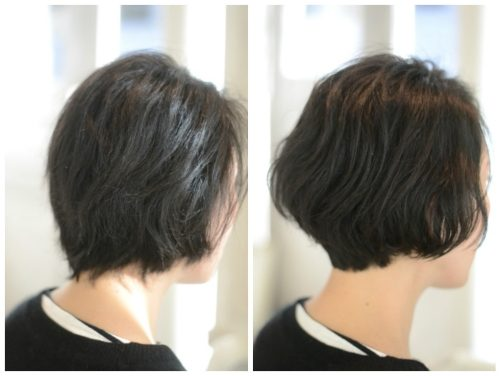 くせ毛のショートヘアは頭が爆発してしまう?