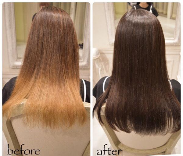 [髪質改善]髪を綺麗にし、3人の女性の髪で美を表しました!幸せを掴むまでの道のり。