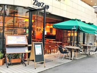 似顔絵ケーキのお店。ZIP-ZAPでランチ♡