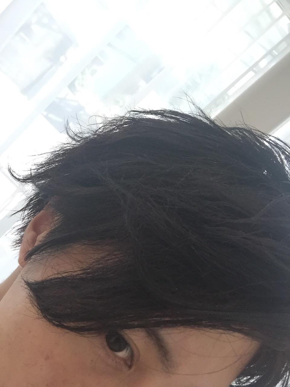 男の僕の髪を髪質改善してみた