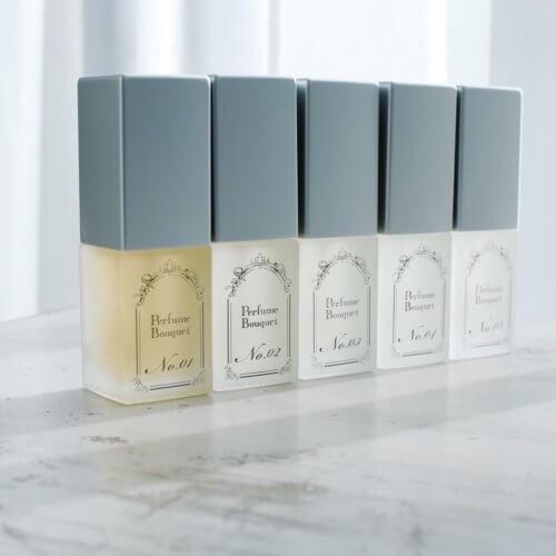 Perfume Bouquet No.1~5(Flowersの香り)が決められない!とお悩みのあなたへ