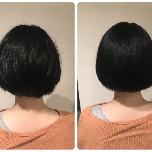 【乾燥とくせ毛がお悩み】ショートヘアの女性がいらっしゃいました♪