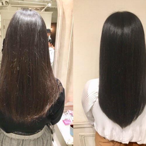 Flowersと髪質改善でここまで綺麗になりました!