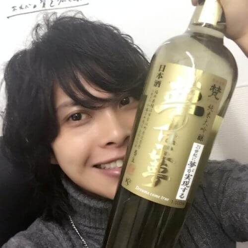 日本酒好きの美容師が日本酒を造る