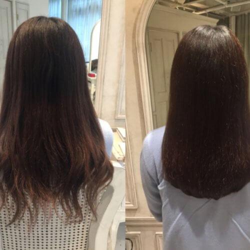 【カット×髪質改善×Flowers】伸ばす予定はなく、カラーの繰り返しで傷んだ髪をどうにかしたい!!