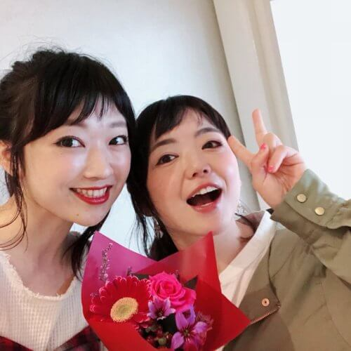 カリスマ女性美容師【珠実】さんがサプライズでお花持ってきてくれました♡