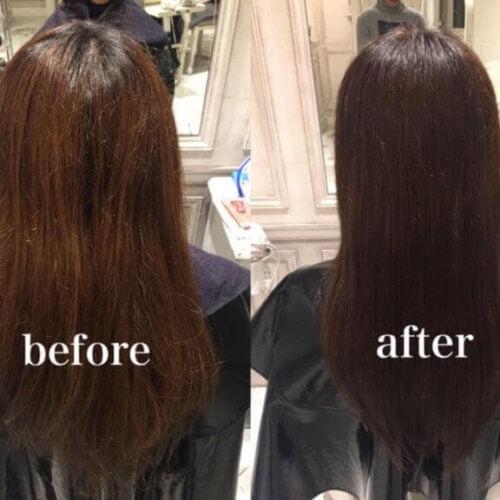 その大きな勇気ある一歩があなたの髪を驚くほど綺麗にしてくれます。