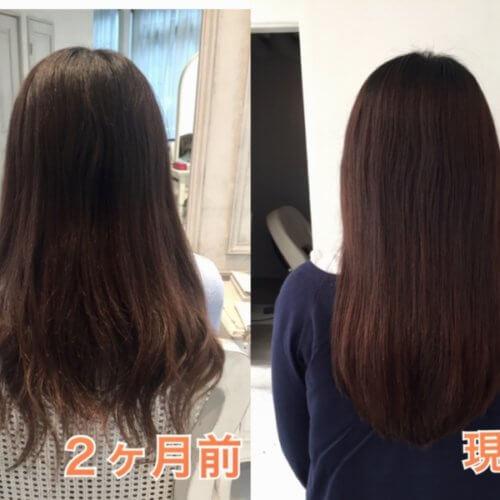 【髪質改善×Flowers】たったの2ヶ月で傷んだ髪がここまでキレイになりました♪