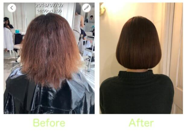 【寺村の美髪術】クセ&ダメージが約1年かけて見違える美しさに……!