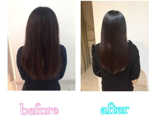 美髪計画9ヶ月目「ゴワゴワにうねり広がる髪を髪質改善でまとまりのある美しい髪へ」