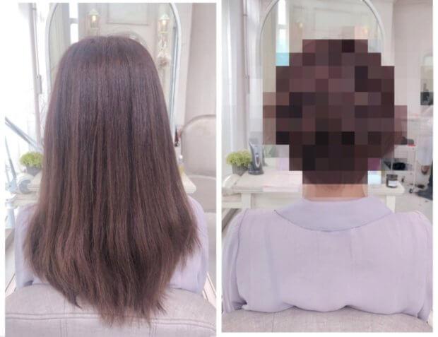 縮毛矯正をかけた髪をショートをするには?