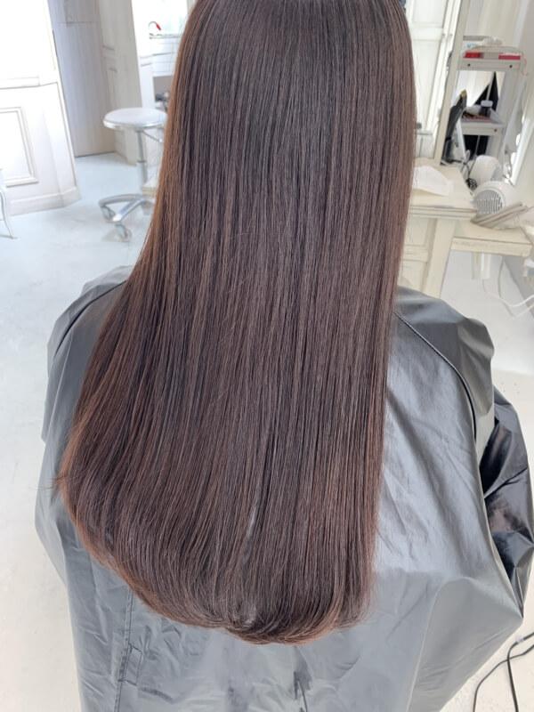 【髪質改善】2年で理想のロングヘアに