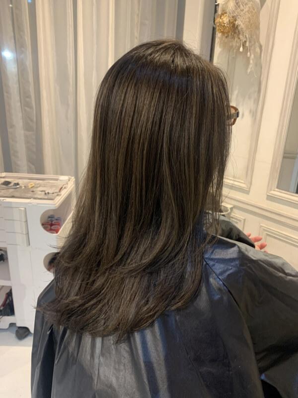 【美髪化計画】白髪染めによるハイダメージした髪を美髪に導く